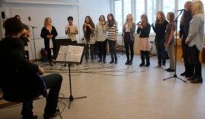 Sång med orkester